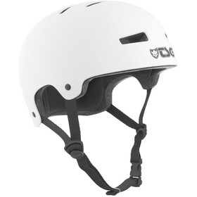 TSG Evolution Solid Color Casco Niños, satin white